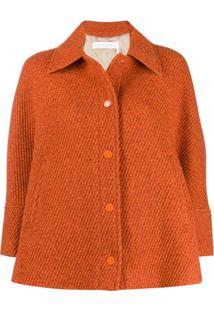 See By Chloé Short Boxy Fit Jacket - Laranja