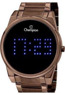 Relógio Champion Digital Ch40053R Feminino - Feminino-Marrom