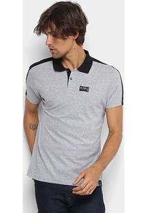 Camisa Polo Fatal Bicolor Masculina - Masculino