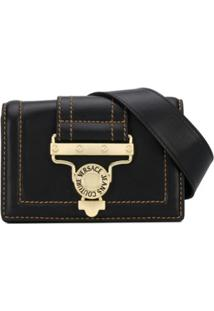 Versace Jeans Couture Logo Shoulder Bag - Preto