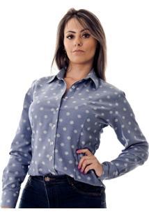 Camisa Pimenta Rosada Aricia - Feminino