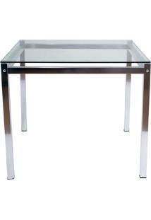 Mesa De Jantar M011 Sucre Alumínio - Alegro Móveis