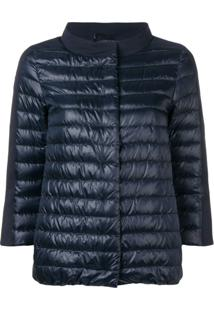 Herno Quilted Padded Jacket - Azul