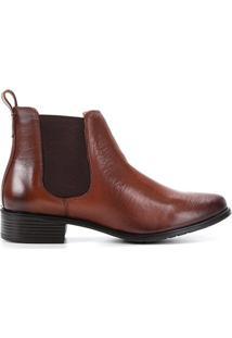 Bota Chelsea Shoestock Cano Curto Elástico Feminina - Feminino