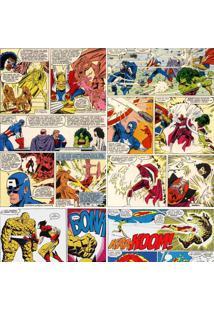 Papel De Parede Adesivo Quadrinhos Marvel (0,58M X 2,50M)