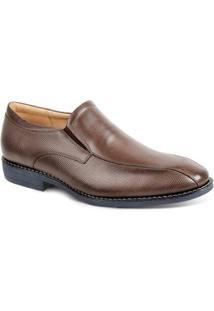 Sapato Social Couro Sandro & Co Masculino - Masculino-Marrom