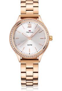 Relógio Philiph London Pl81013113F Rosê