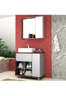 Conjunto De Banheiro Lazio - Bosi Elare