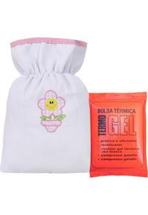 Bolsa Térmica Padroeira Baby Patch Flor Rosa