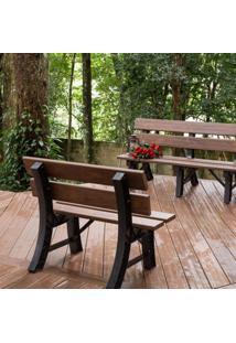 Banco Jardim Com Encosto In Brasil Ipê