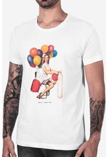 Camiseta Party Time Branca 102523