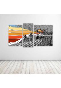 Quadro Decorativo - Art Cool - Composto De 5 Quadros - Multicolorido - Dafiti