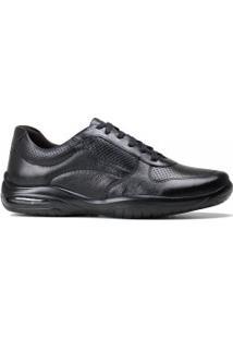 Sapato Democrata Air Motion Couro