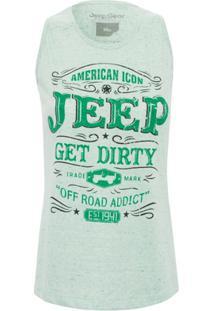 Camiseta Jeep Feminina Get Dirty - Feminino