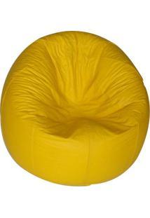 Puff Redondo Pop Cipaflex Amarelo - Markine Mobilier