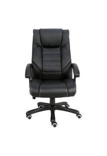Cadeira Office Multilaser Presidente Deluxe, Até 150Kg, Altura Ajustáveis, Reclinação - Ga202