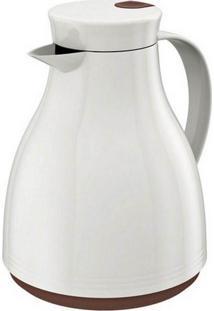 Bule Térmico Oslo Branco/Marrom 0,5L Euro Home Bt5874-Brmr