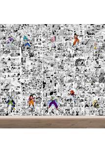 Papel De Parede Adesivo Dragon Ball Z (0,58M X 2,50M)