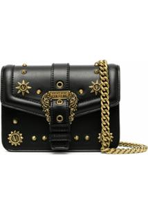 Versace Jeans Couture Bolsa Transversal Couture 1 - Preto