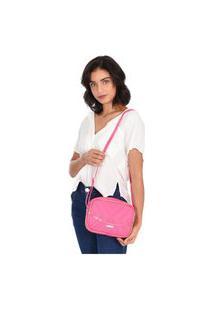 Bolsa Transversal Maria Milão Shoulderbag Corrente Rosa/Pink