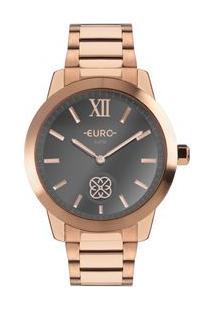 Relógio Euro Move Charm Feminino Rosé Euvd78A4Aa/4C Euvd78A4Aa/4C
