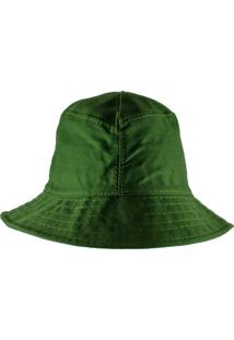 Chapéu Rich Young Bucket Verde Liso