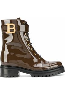 Balmain Ankle Boot Ranger Romy - Marrom