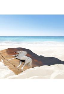 Toalha De Praia / Banho Cavalo Selvagem