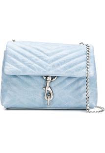 Rebecca Minkoff Bolsa Tiracolo Dobrável - Azul