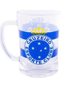 Caneca Minas De Presentes Cruzeiro Transparente - Kanui