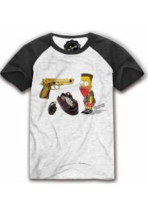 Camiseta Raglan The Garage Custom Tees Barth Gangsta