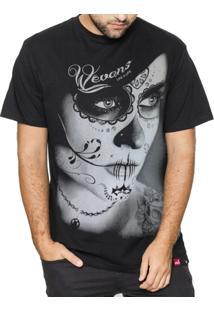 Camiseta Caveira Mexicana Catrina - Masculino