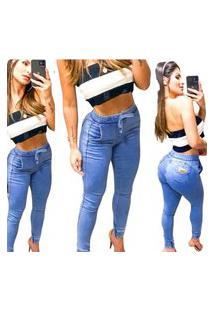 Calça Jeans Jogger Rc Azul