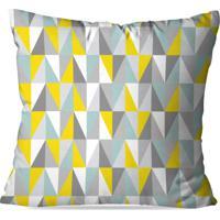 cb4e78d47 Capa De Almofada Love Decor Avulsa Geometric 3D Multicolorido