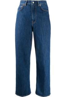 Acne Studios 1993 Trash High-Rise Jeans - Azul