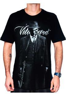 Camiseta Vitaboard Gangster Preta