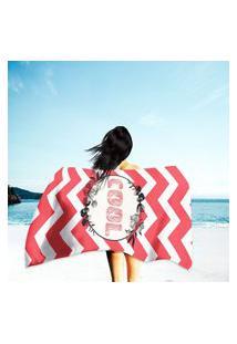 Toalha De Praia / Banho Cool Único