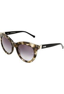 Óculos De Sol Forum Demi Feminino - Feminino-Preto