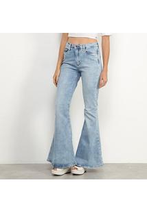 Calça Jeans Carmim Flare Feminina - Feminino