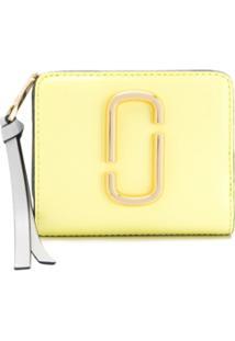 Marc Jacobs Carteira Snapshot Mini - Amarelo
