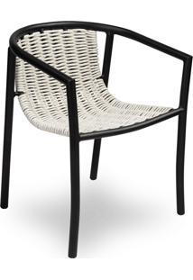 Cadeira Bonanza Área Externa Trama Corda Náutica Estrutura Alumínio Eco Friendly Design Scaburi