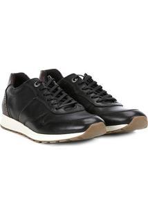 Tênis Couro Shoestock Brogues Masculino - Masculino