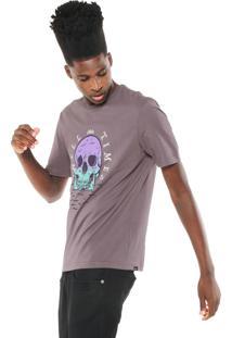Camiseta Globe Swell Times Lilás