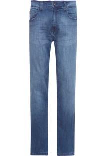 Calça Masculina Elastic Slim - Azul