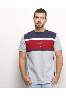 Camiseta Industrie Especial Bicolor Masculina - Masculino