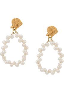 Alighieri Apollo`S Story Earrings - Dourado
