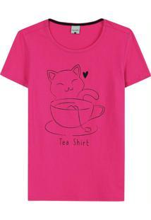 Blusa Rosa Escuro Tradicional Tea Shirt