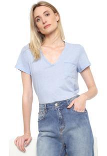 Camiseta Forum Bolso Azul