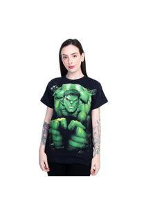Camiseta Marvel Hulk Preto