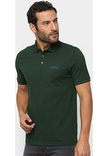 Camisa Polo Ellus Piquet Industry Co. Masculina - Masculino-Musgo